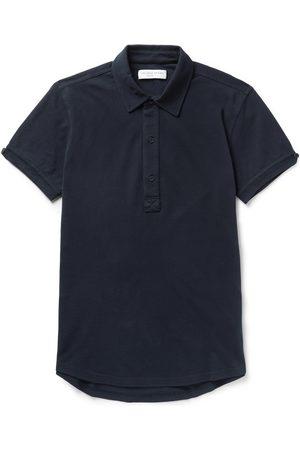 Orlebar Brown Heren Korte mouw - Sebastian Slim-Fit Cotton-Piqué Polo Shirt