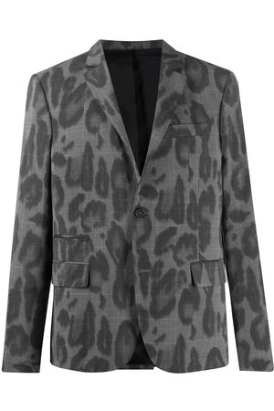 Stella McCartney Leopard print poplin blazer