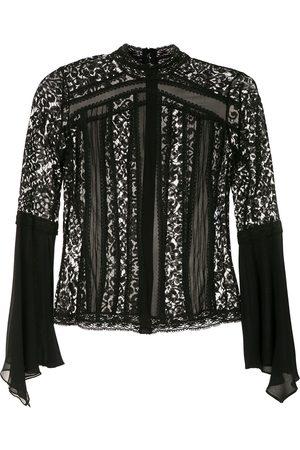 MARTHA MEDEIROS High neck blouse