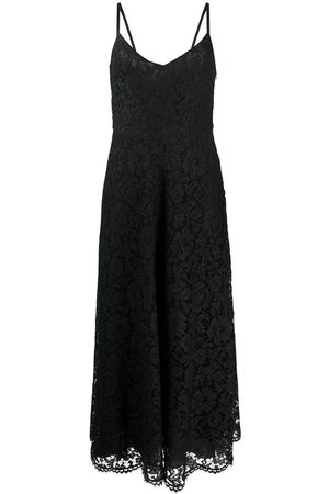 Valentino Long floral lace dress