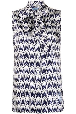 Prada Geometric print blouse