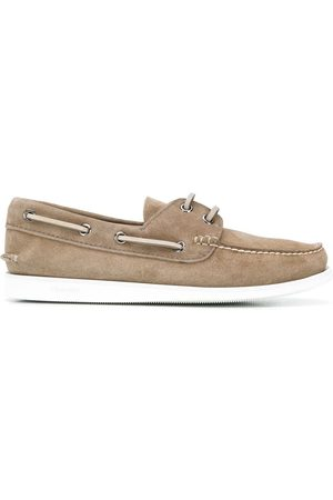 Church's Lace-up detail boat shoes