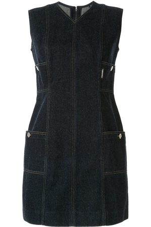 CHANEL Sleeveless denim dress