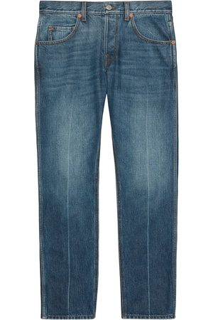 Gucci Mid-rise cropped jeans