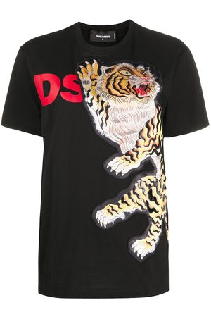 Dsquared2 Tiger patch T-shirt