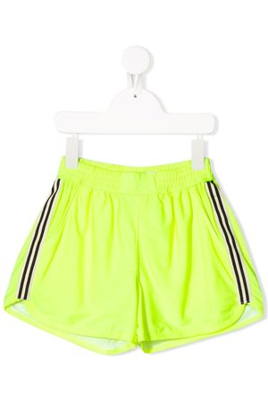 Le pandorine Racer stripe running shorts