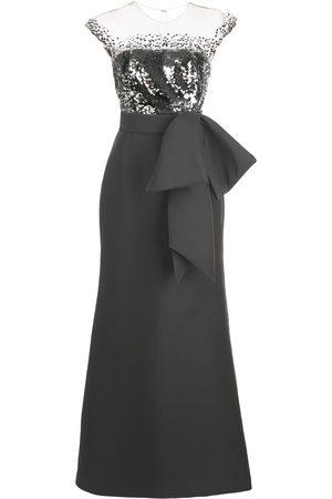 Sachin & Babi Elisa sequin-bodice gown
