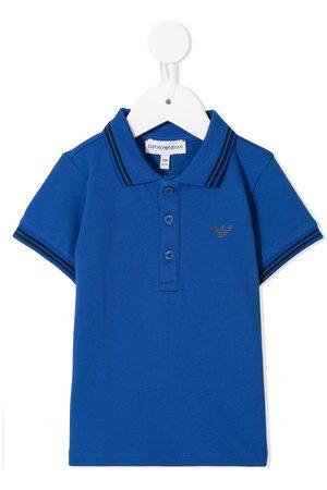 Emporio Armani Contrasting trim polo shirt
