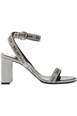 Balenciaga Heeled sandals with logo