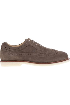 Hogan English style lace-up with light para sole and contrasting welt