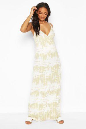 Boohoo Lange jurken - Maternity Tie Dye Maxi Dress