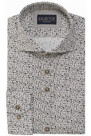 Duetz1857 Duetz 1857 dress overhemd bloemprint