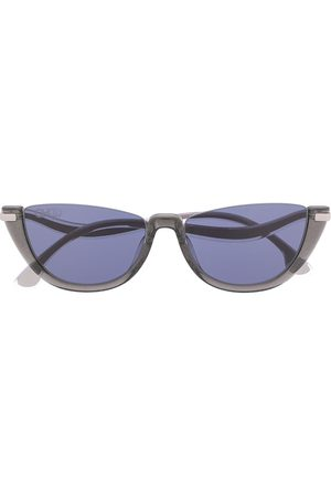 Jimmy Choo Ionas curved-temple sunglasses