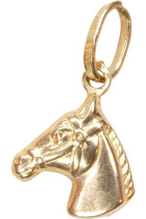 Christian Gouden paardenhoofd hanger