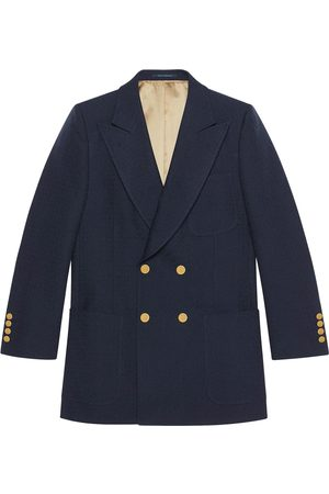 Gucci Textured wool blazer