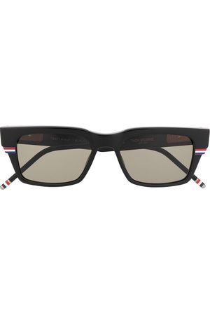 Thom Browne Eyewear RWB rectangular sunglasses