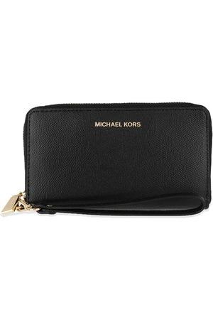 Michael Kors Jet Set Wristlet Black Portemonnees