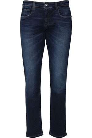 Armani 12.5oz Medium Dark Blue Wash Jeans
