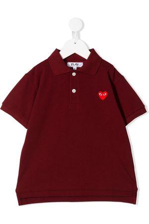 Comme des Garçons Embroidered logo polo shirt