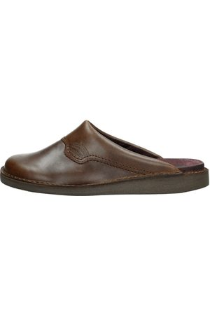 The New Shoecompany Heren Muilen - Donkerbruin