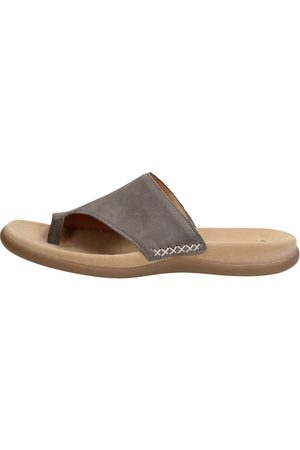 Gabor Dames Slippers - Taupe