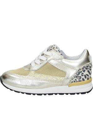 KEQ Meisjes Sneakers - Goudkleur