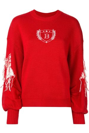 BAPY Embroidered crew neck jumper