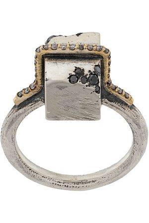TOBIAS WISTISEN Block Stones embellished ring