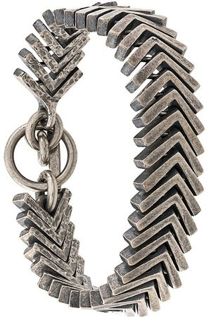 TOBIAS WISTISEN V-shaped link bracelet