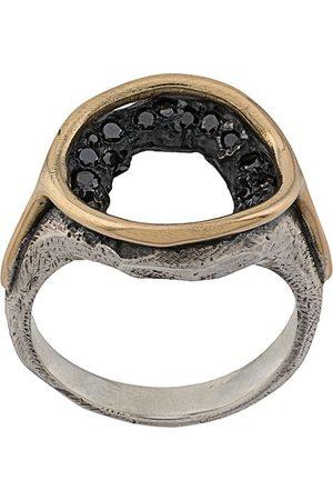 TOBIAS WISTISEN Crystal-embellished round ring