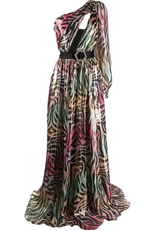 Philipp Plein Long Dress Jungle