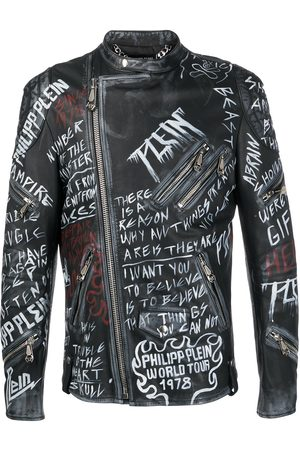 Philipp Plein Leather Biker ROCKSTAR