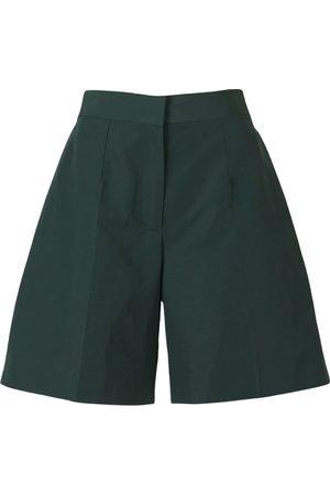 Victoria Beckham Linen and Cotton Taffeta Shorts