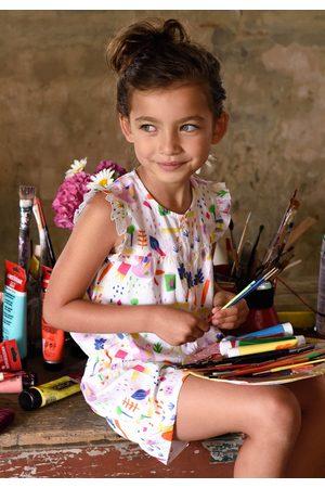 Oilily Katoenen onesie met little painter print