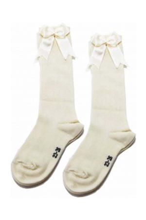 iN ControL 876-2 knee socks OFFWHITE ecru