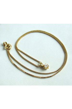 Christian Gouden collier en diamanten hanger