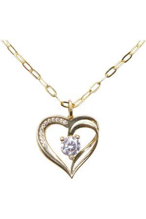 Christian Gouden ketting met hart hanger