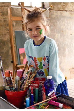 Oilily Sweatshirt met kleurrijke little artist print