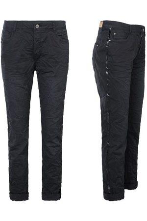 Summum 4s1792-10943 990 broek crispy twill stretch black