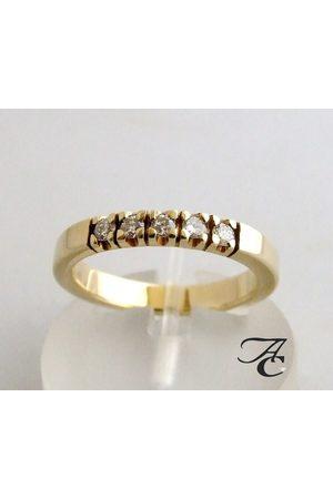 Atelier Christian Ring met briljant geslepen diamanten