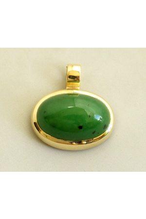 Atelier Christian 18 karaat hanger met jade