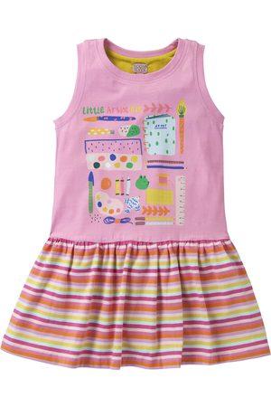 Oilily Jersey jurkje met duo print in zomerse kleuren