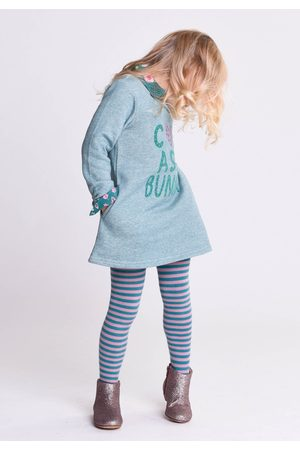 Oilily Hasia sweat dress 65 light green terry- turquoise