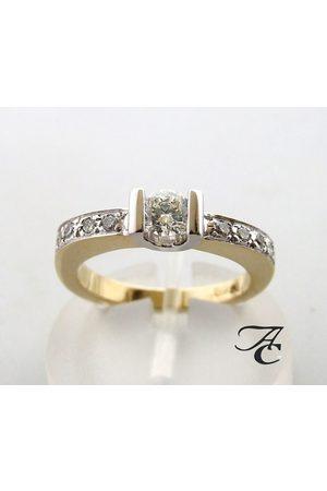 Atelier Christian Gouden briljant geslepen diamanten ring