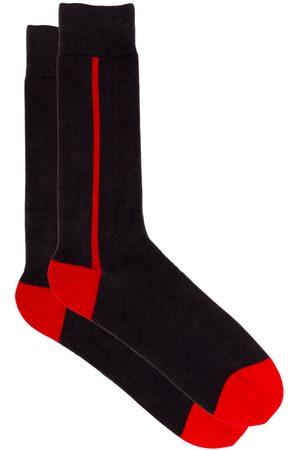 Saint Azul Heren Sokken - Extra lange heren sokken business rio de janeiro - rood