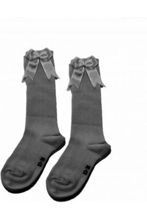 iN ControL 876-2 knee socks GREY MELANGE melange