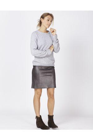 Moscow Fw18-13.01 skirt dark silver