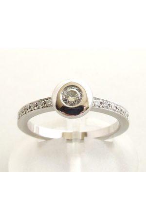 Christian Ring met diamanten 0.30 ct.