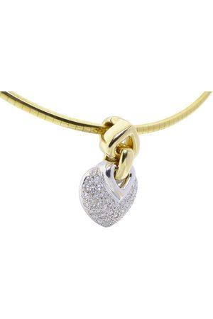 Christian Harten diamanten hanger