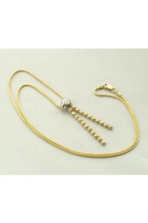 Christian Bicolor gouden collier diamanten hanger